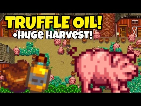 🐷Pigs Truffle Oil Project!🍄 - *SO VALUABLE!* - Stardew Valley