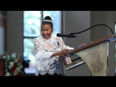 Xernona Clayton recounts introducing John Lewis to his wife Lillian Miles | John Lewis funeral