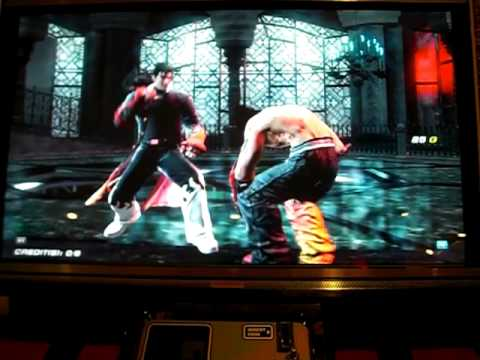 Tekken 6 BR - Jin vs. Nancy-MI847J, Jin, and Azazel