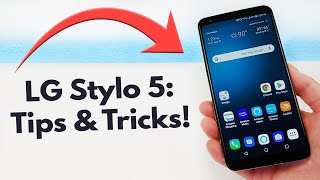 LG Stylo 5 - Tips and Tricks! (Hidden Features)