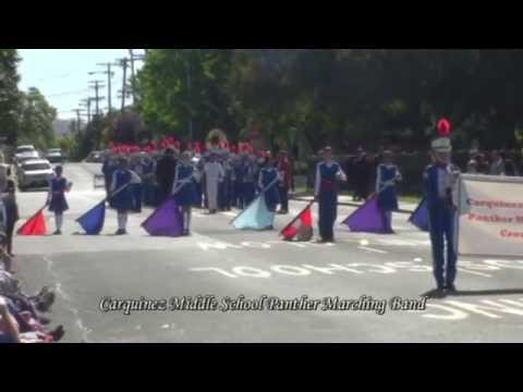 Carquinez Middle School Panther Marching Band