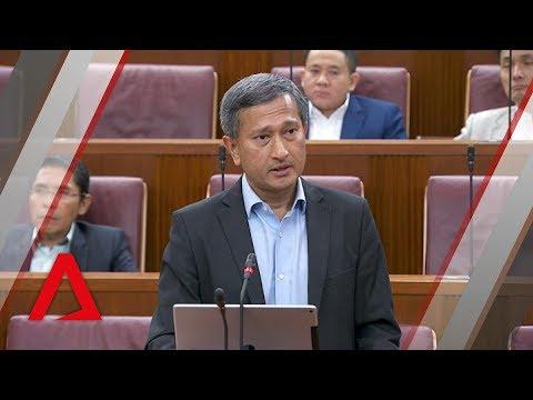 Vivian Balakrishnan on Mahathir's remarks that Malaysia-Singapore water deal is