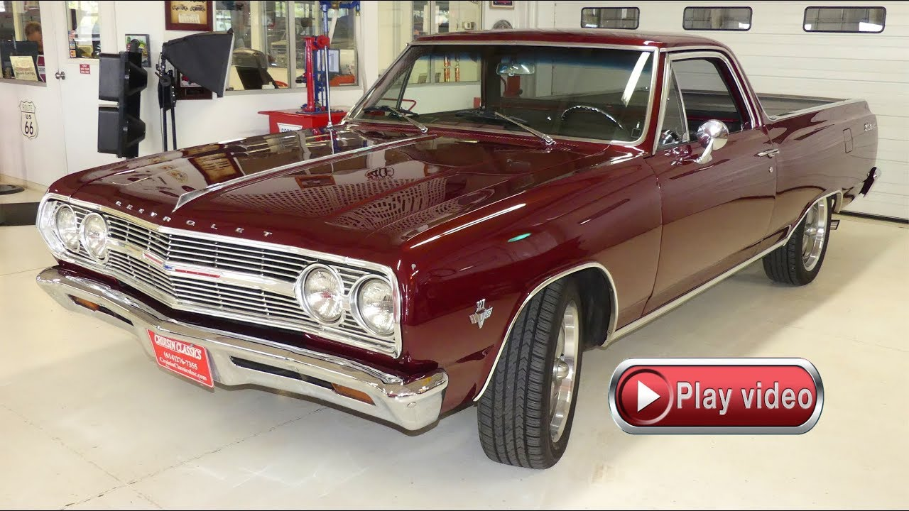 hight resolution of 1965 chevrolet el camino 327 ac automatic
