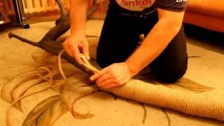 видео Как самостоятельно сделать когтеточку