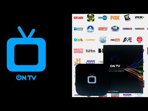 ON TV BOX UNBOXING & REVIEW COMPLETO