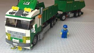 LEGO City 7998 Heavy Hauler Double Dump Truck from 2007!