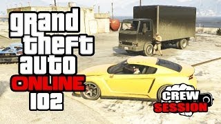 GTA ONLINE #102 - LKW-Diebstahl & Flugshow [HD+] | Let's Play GTA Online