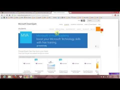 KTMT TNUT   Use Acc DreamSpark to download license software FREE