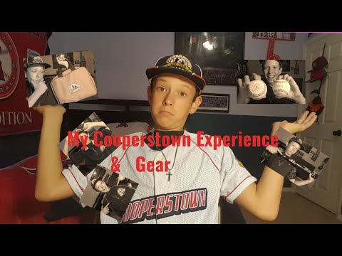 What Gear you Get at cooperstown all -star-village and my experience