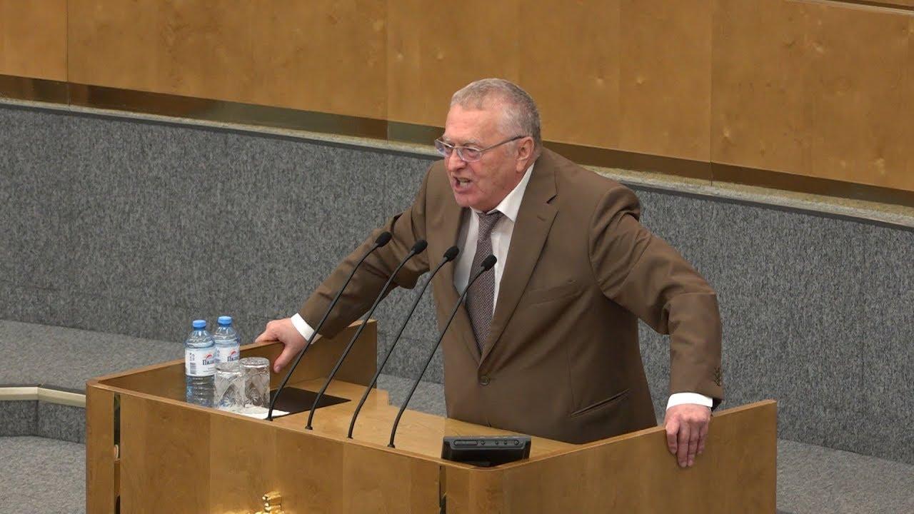Жириновский: Мы меняем названия, а проблемы остаются!