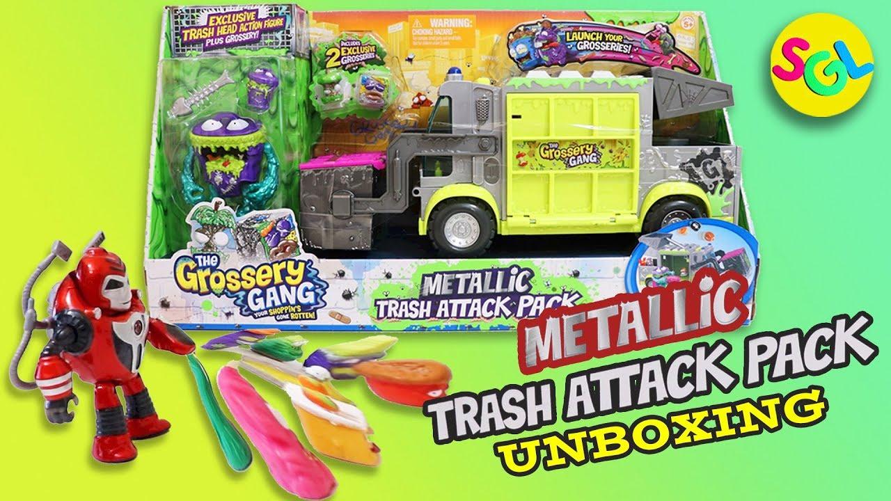 Grossery Gang Metallic Trash Attack Pack Series 3