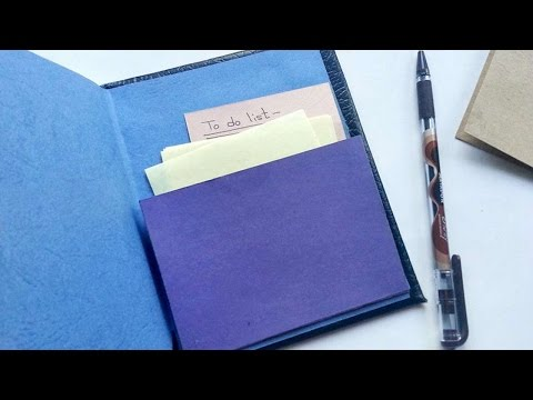 How To Create A Book Journal Pocket - DIY Crafts Tutorial - Guidecentral