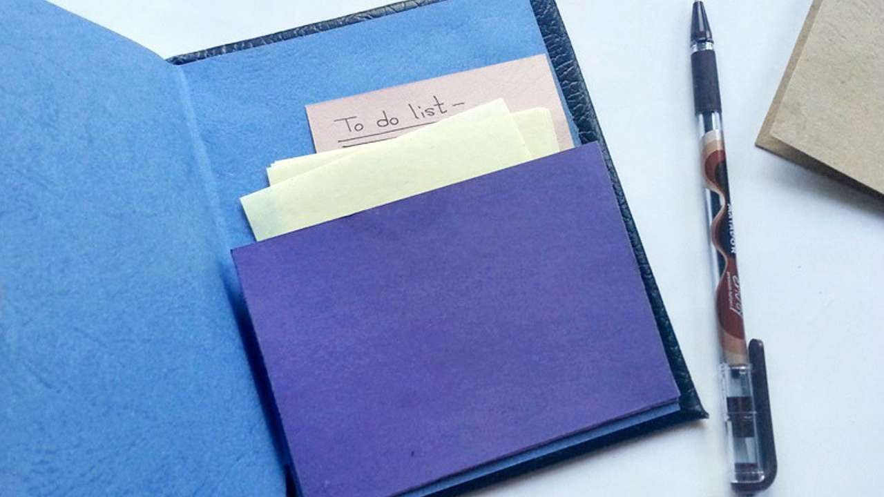 How To Make A Book Journal : How to create a book journal pocket diy crafts tutorial