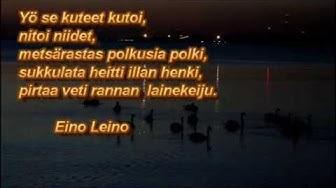 Eino Leinon runo