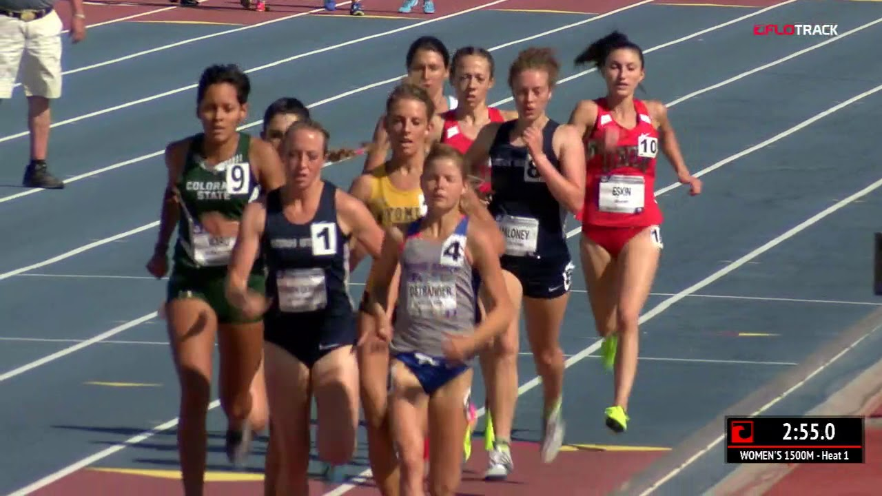 bc882cd8f3 Allie Ostrander Wins 1500m Heat