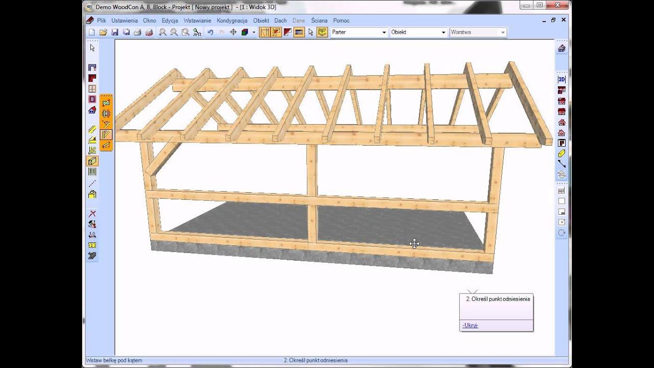 Woodcon Projekt Altany Drewnianej