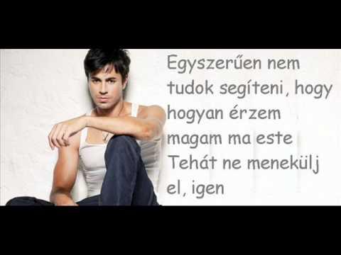 Enrique Iglesias feat. Kelis I'm not in love magyar felirat.