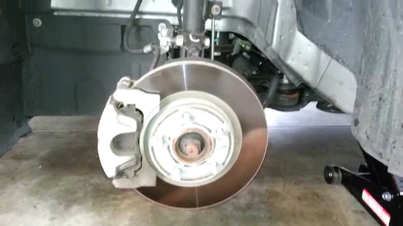 Chrysler 200 rear brakes