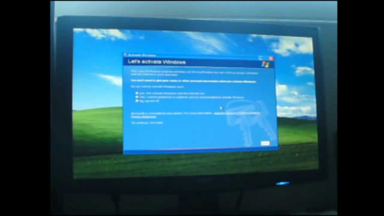 window xp activation bypass