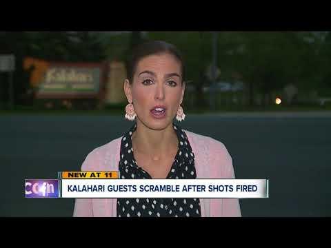 Two men arrested after a single shot was fired at Kalahari Resort in Sandusky