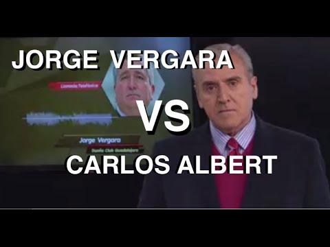 Pelea entre Jorge Vergara Dueño de Chivas y Carlos Albert En VIVO 2016