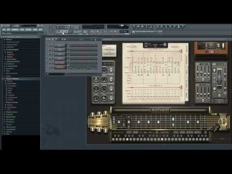 VST Sugar bytes gitarist test, example #2  ( FL Studio )