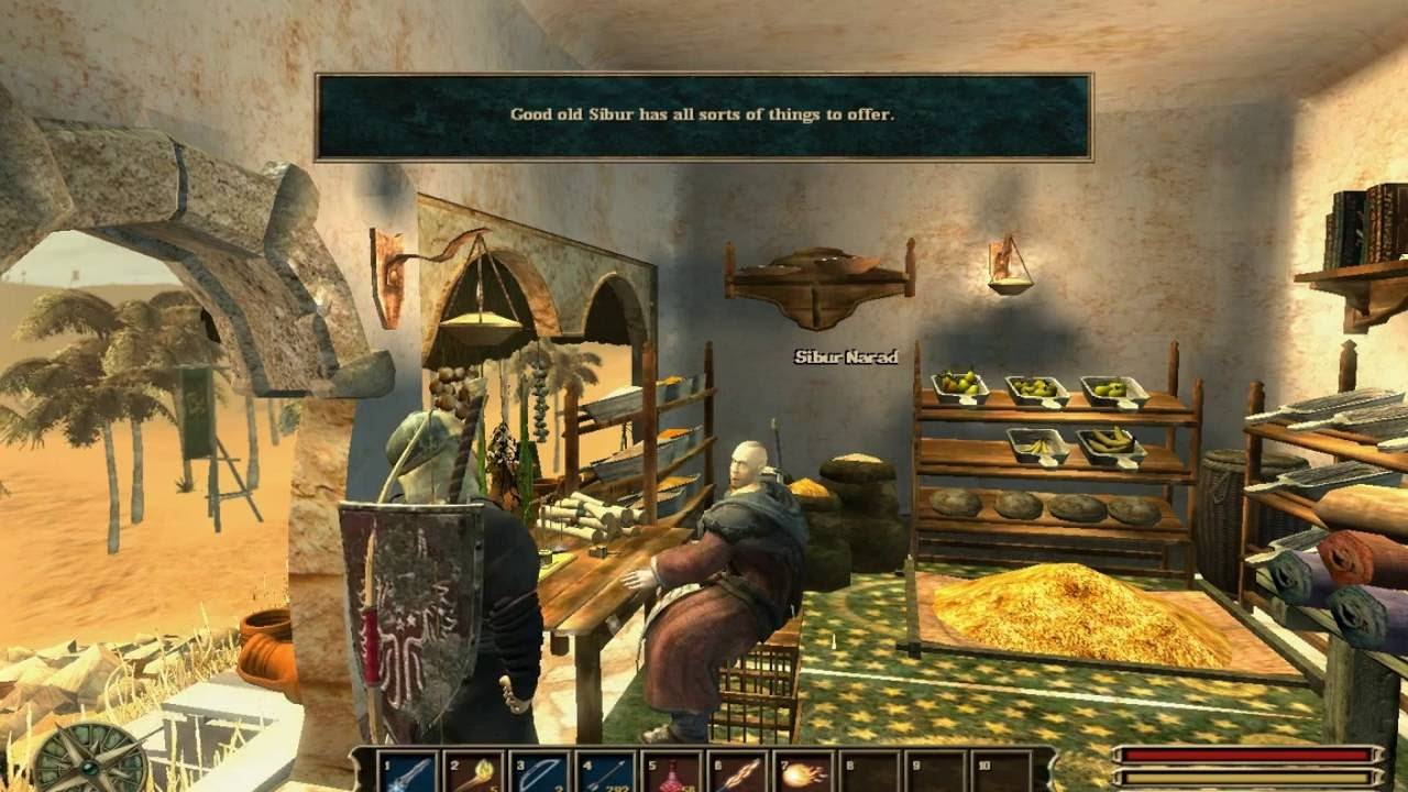 Let's Play] Gothic 3 part 29 - Sibur Narad, the Master of Weed - YouTube