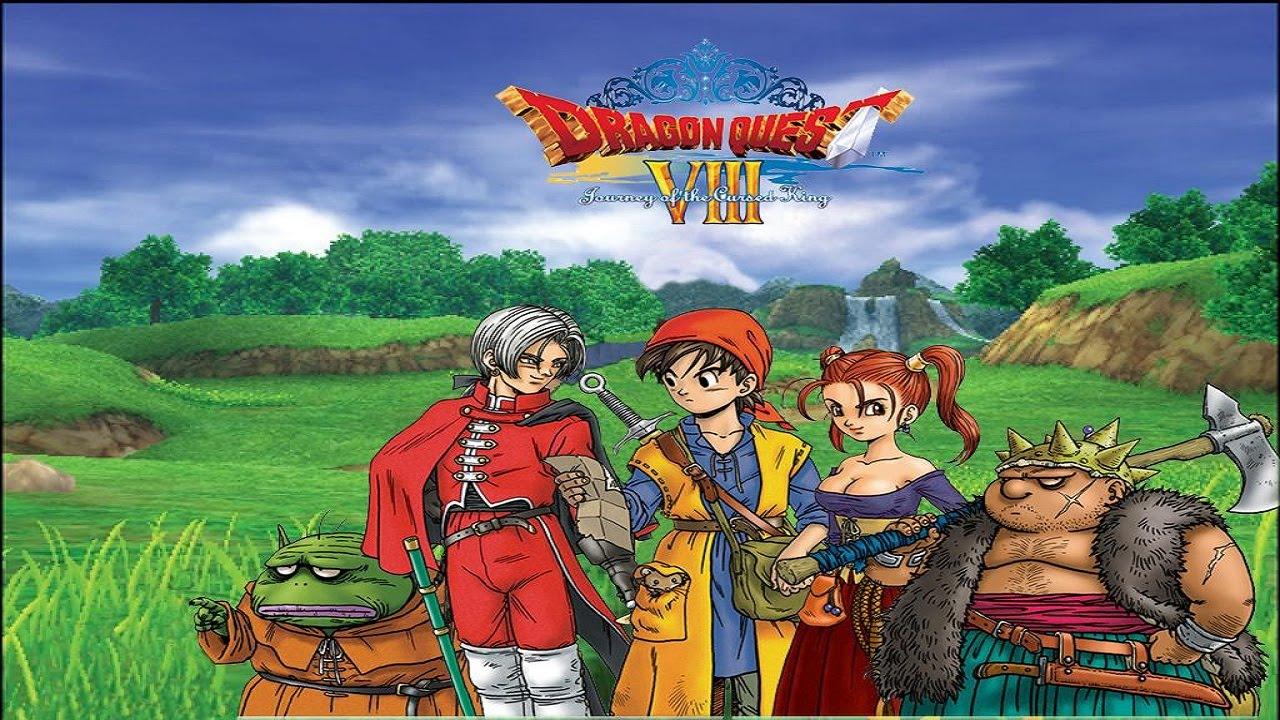 Dragon Quest Viii Walkthrough Part 29 168 The World Map Youtube