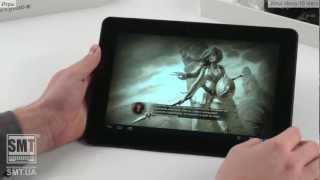 Видео-обзор на 10 дюймовый планшет Ainol Novo 10 Hero(Предлагаем вашему вниманию русскоязычный видео обзор 10 дюймового планшетного компьютера от известного..., 2013-02-05T15:34:32.000Z)