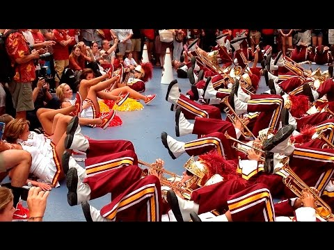 USC Trojan Marching Band in New York City's Times Square (part 3)