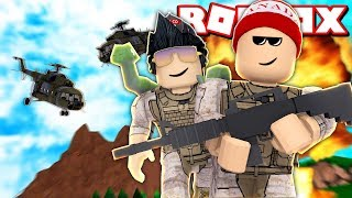 2 PLAYER CONSTRUINDO UMA BASE MILITAR no ROBLOX - Two Player Military Tycoon (ft. Gamermais) 🎮