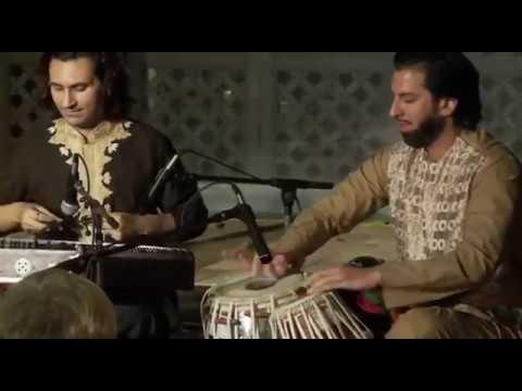 Rubab, and Tabla meets Santur (powerful instruments) - Homayun Sakhi, Salar Nader, and Rahul Sharma