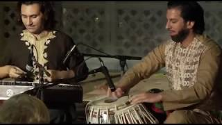 Rubab, and Tabla meets Santur (powerful instruments) - Homayun Sakhi, Salar Nader, and Rahul Sharma