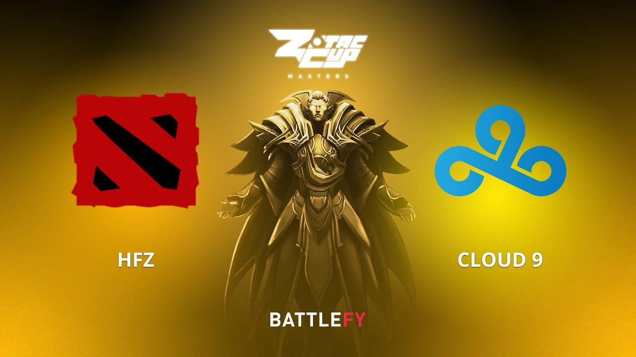 HFZ vs Cloud 9, Game 2, Zotac Cup Masters, EU Qualifier
