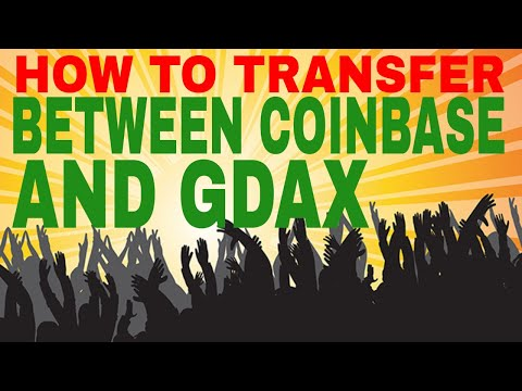 How To Transfer Bitcoin Litecoin or Ethereum From Coinbase to GDAX