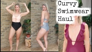 CURVY SWIMWEAR HAUL & TRY ON | TRYING OUT CUPSHE SWIMWEAR | KERRY WHELPDALE Mp3