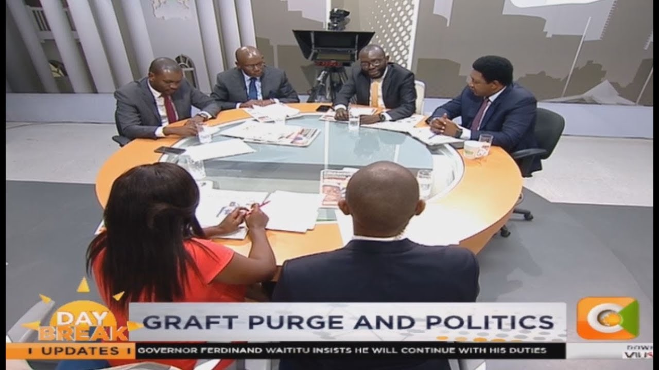 NEWS REVIEW | Graft purge and politics; Contempt or confusion in Kiambu? | Part 2