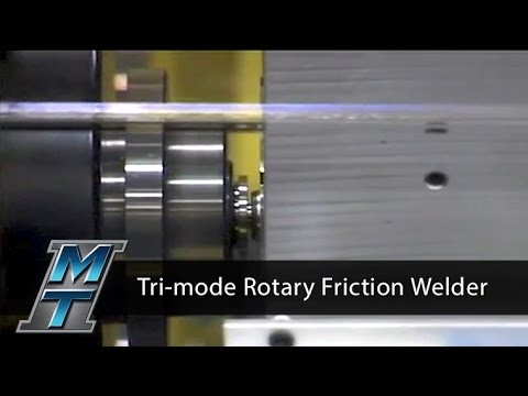 Tri-Mode Rotary Friction Welder - Model 3T