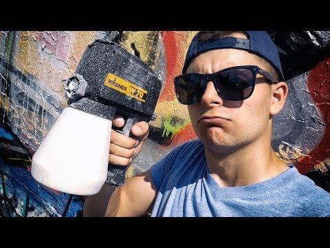Trying 25 Years old Spray GUN