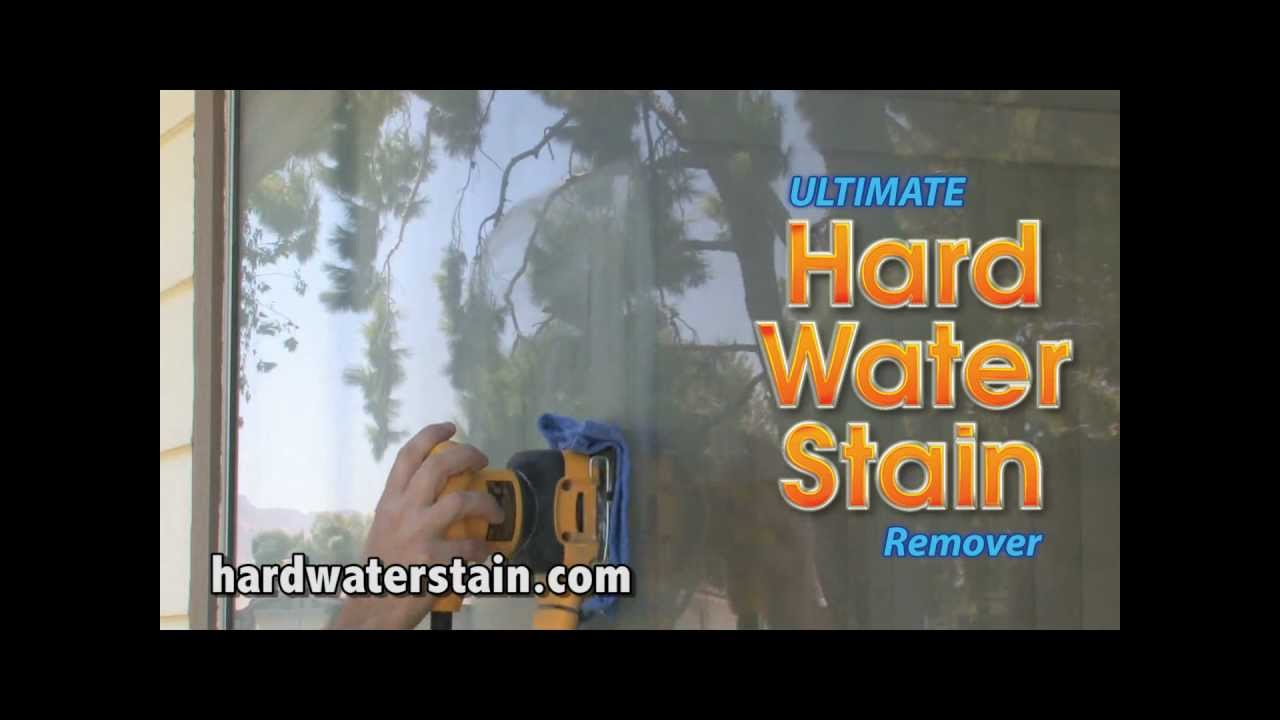 How to remove hard water stains from glass: a step-by-step ...
