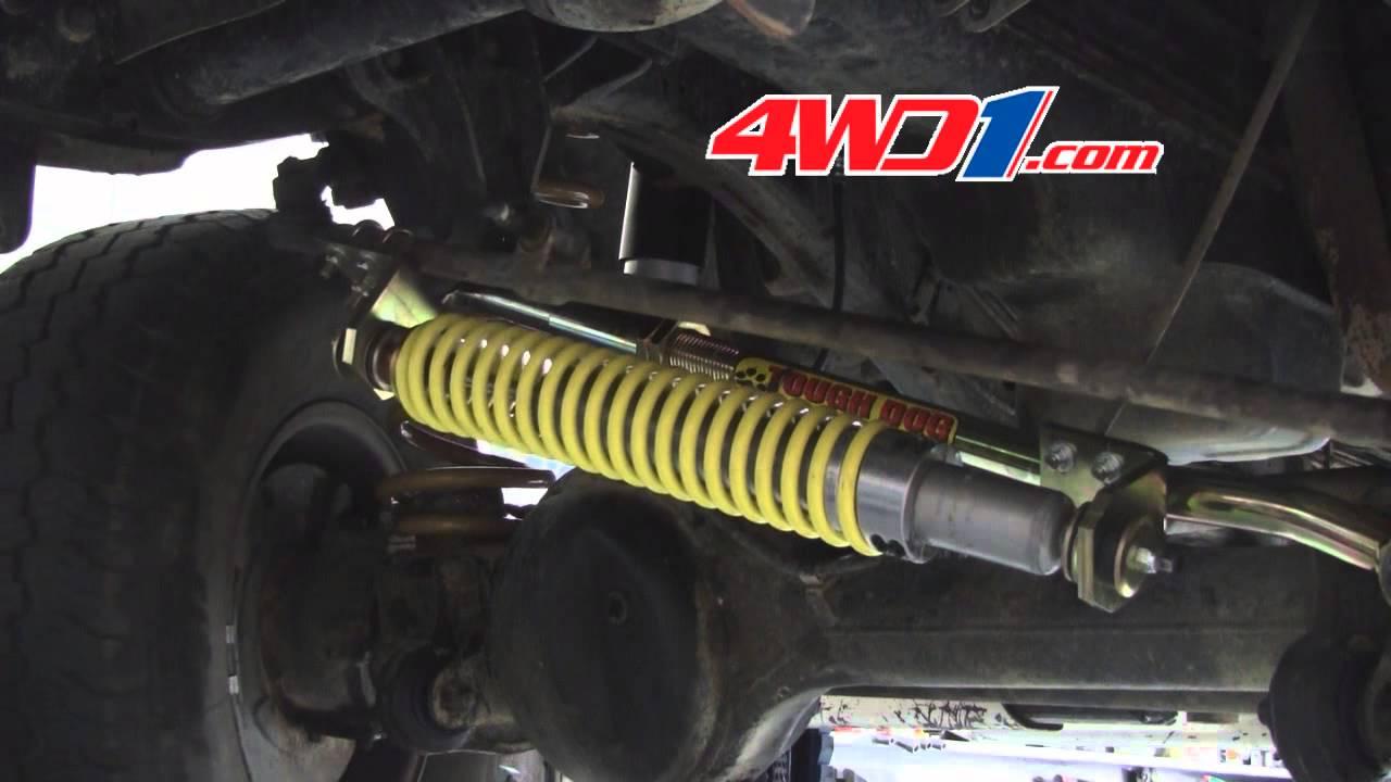 Tough Dog XHD Return To Centre Steering Damper