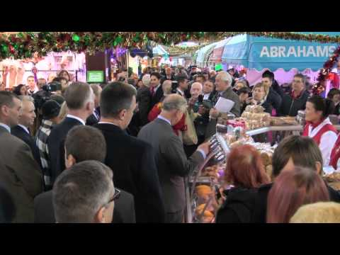 HRH Prince Charles - Swansea Market
