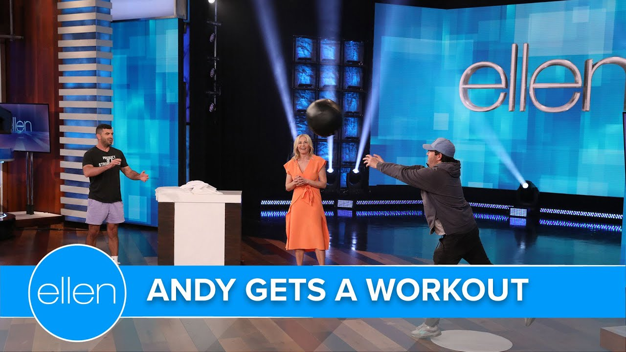 Andy Gets Fit with Chelsea Handler's Trainer