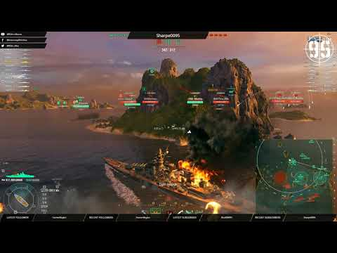 [95th] [WoWS-EU] Sunday shipping forecast - Randoms with a chance of Clan later! (121117)