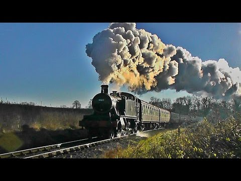 The Glory of Steam Trains