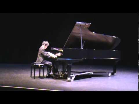 Etude, Op. 1, No. 4 ~ Liszt; Vincent Yang, 10 years old boy