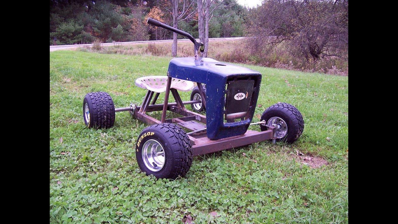 Lawn Tractor Frames : Racing mower re build update doovi