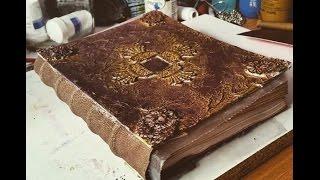 How To Make Book Step By Step - Vintage Journal DIY