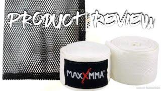"MaxxMMA 180"" Nylon Poly Hand Wraps + Washable Mesh Bag - Product Review"