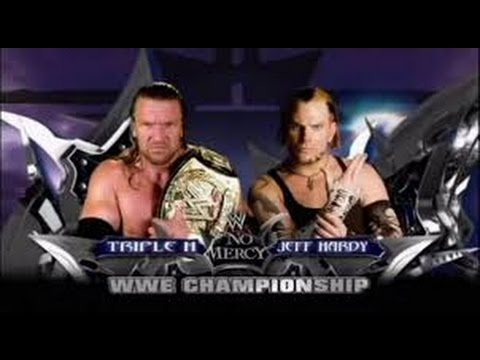 Jeff Hardy vs Triple H l No Mercy 2008 l...